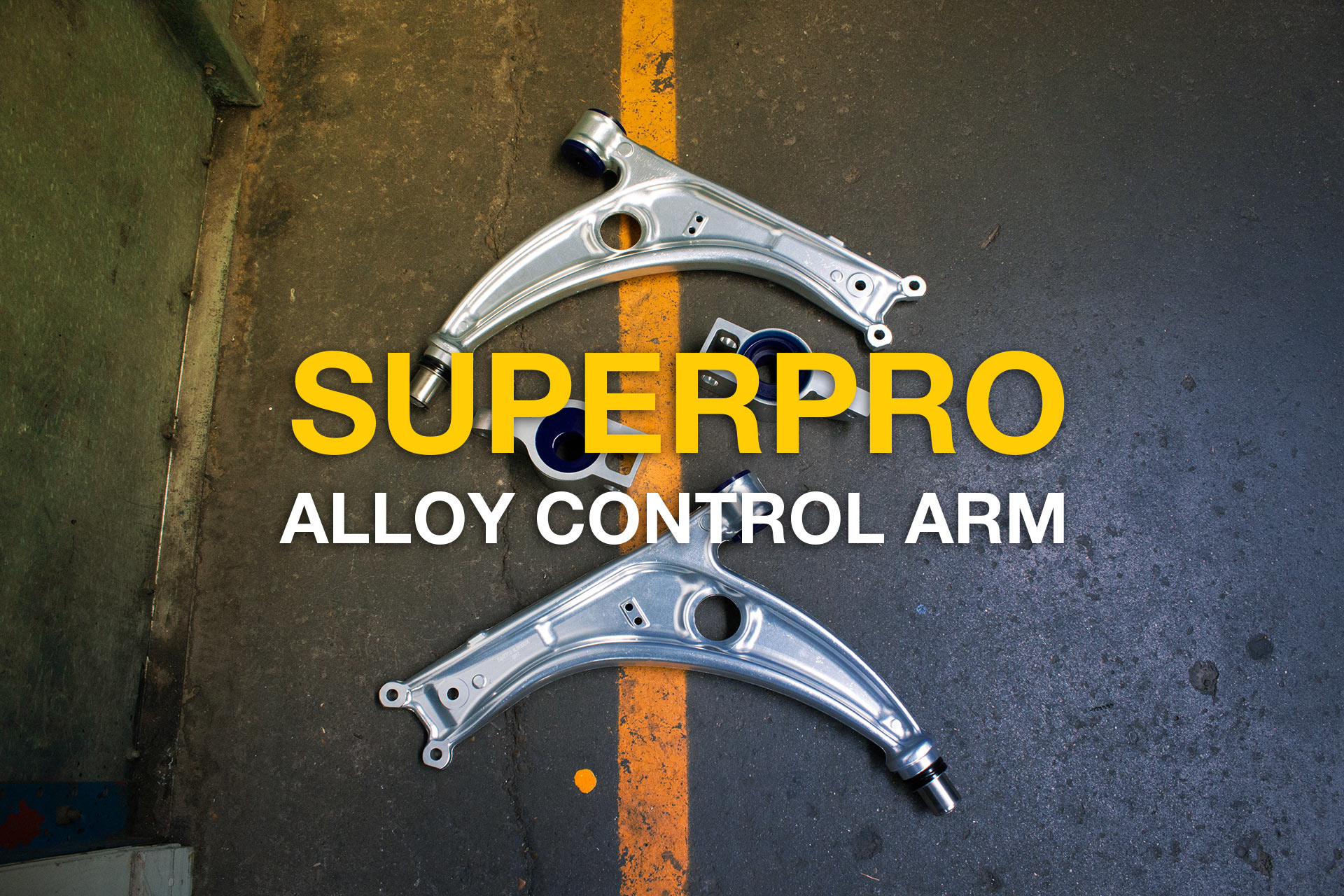 Alloy Control Arm ALOY0001K for Volkswagen, Audi, Seat & Soda Vehicles