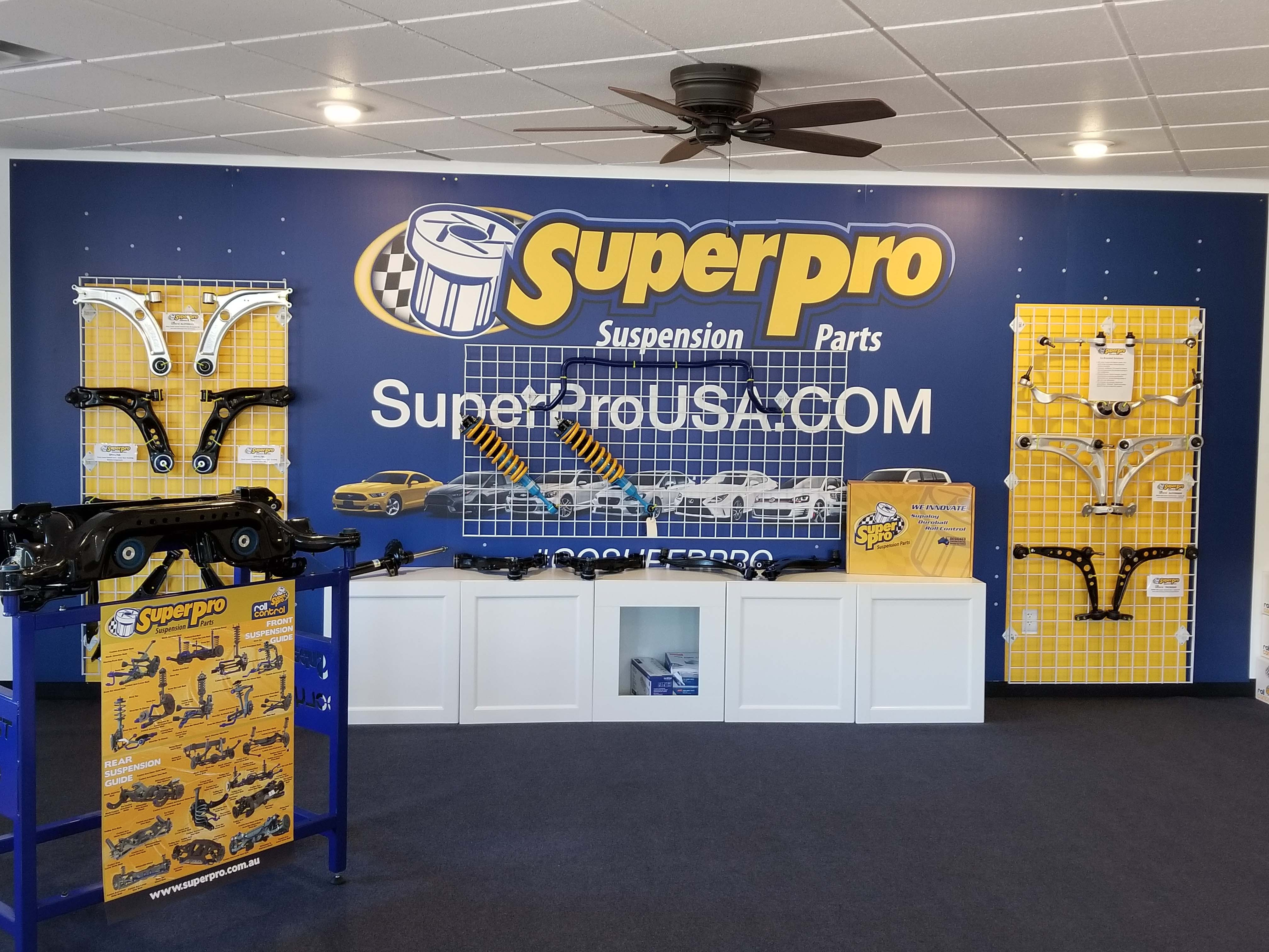 SuperPro USA Showroom low