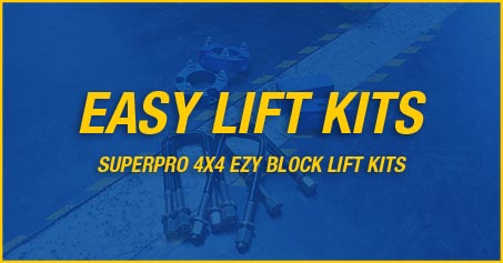 SUPERPRO 4X4 EASY LIFT KITS