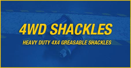 SUPERPRO 4X4 GREASABLE SHACKLES