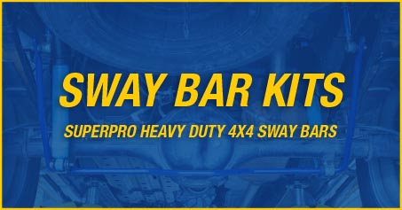 SUPERPRO 4X4 SWAY BARS