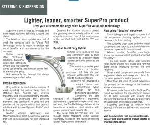 Lighter, leaner, smarter SuperPro product